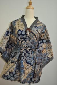 batik in kimono
